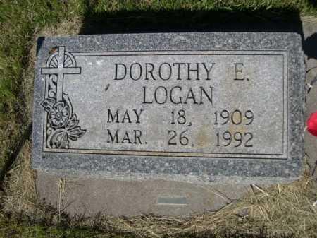 LOGAN, DOROTHY E. - Dawes County, Nebraska | DOROTHY E. LOGAN - Nebraska Gravestone Photos