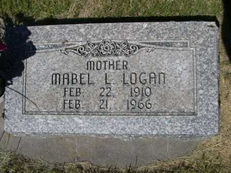 LOGAN, MABEL L. - Dawes County, Nebraska   MABEL L. LOGAN - Nebraska Gravestone Photos