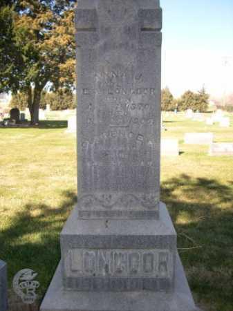 LONGCOR, ANNA J. - Dawes County, Nebraska | ANNA J. LONGCOR - Nebraska Gravestone Photos