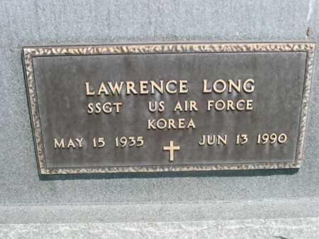 LONG, LAWRENCE - Dawes County, Nebraska | LAWRENCE LONG - Nebraska Gravestone Photos