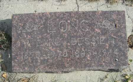 LONG, R. EARL - Dawes County, Nebraska   R. EARL LONG - Nebraska Gravestone Photos