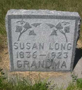 LONG, SUSAN - Dawes County, Nebraska | SUSAN LONG - Nebraska Gravestone Photos