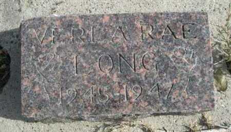 LONG, VERLA RAE - Dawes County, Nebraska | VERLA RAE LONG - Nebraska Gravestone Photos