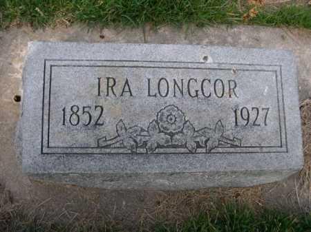LONGCOR, IRA - Dawes County, Nebraska   IRA LONGCOR - Nebraska Gravestone Photos