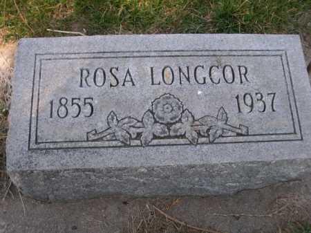 LONGCOR, ROSA - Dawes County, Nebraska | ROSA LONGCOR - Nebraska Gravestone Photos