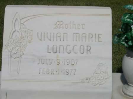 LONGCOR, VIVIAN MARIE - Dawes County, Nebraska | VIVIAN MARIE LONGCOR - Nebraska Gravestone Photos