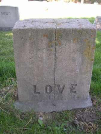 LOVE, FAMILY - Dawes County, Nebraska | FAMILY LOVE - Nebraska Gravestone Photos