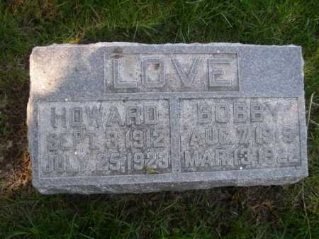 LOVE, HOWARD - Dawes County, Nebraska | HOWARD LOVE - Nebraska Gravestone Photos
