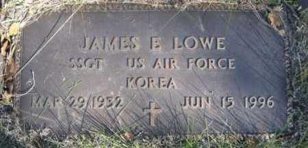 LOWE, JAMES E. - Dawes County, Nebraska   JAMES E. LOWE - Nebraska Gravestone Photos