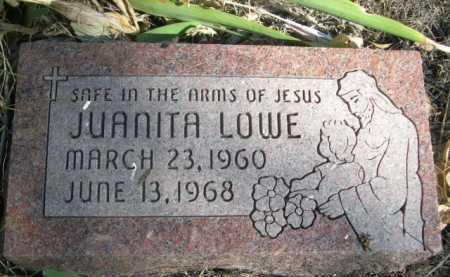 LOWE, JUANITA - Dawes County, Nebraska   JUANITA LOWE - Nebraska Gravestone Photos