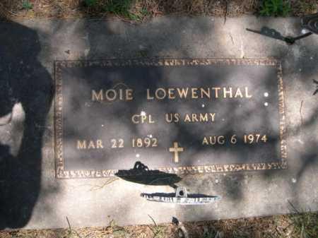LOEWENTHAL, MOIE - Dawes County, Nebraska | MOIE LOEWENTHAL - Nebraska Gravestone Photos