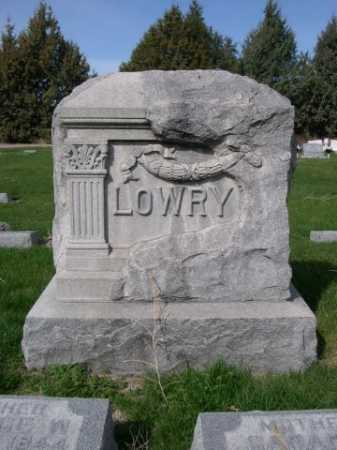 LOWRY, FAMILY - Dawes County, Nebraska | FAMILY LOWRY - Nebraska Gravestone Photos