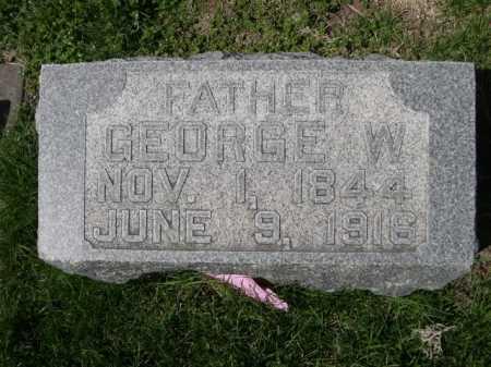 LOWRY, GEORGE W. - Dawes County, Nebraska | GEORGE W. LOWRY - Nebraska Gravestone Photos