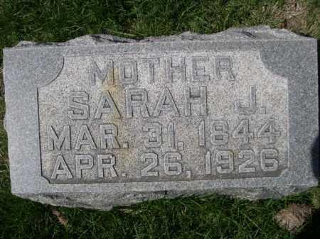 LOWRY, SARAH J. - Dawes County, Nebraska   SARAH J. LOWRY - Nebraska Gravestone Photos