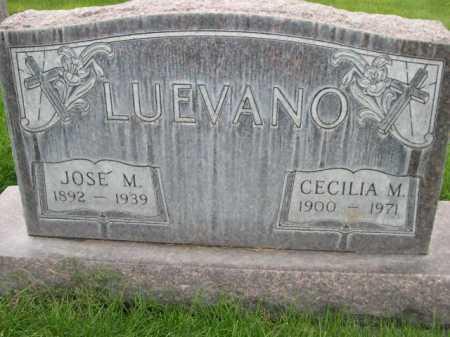 LUEVANO, JOSE M. - Dawes County, Nebraska | JOSE M. LUEVANO - Nebraska Gravestone Photos