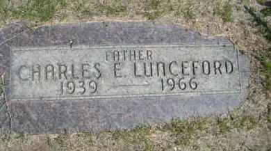 LUNCEFORD, CHARLES E. - Dawes County, Nebraska | CHARLES E. LUNCEFORD - Nebraska Gravestone Photos