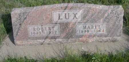 LUX, MABEL - Dawes County, Nebraska | MABEL LUX - Nebraska Gravestone Photos