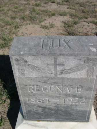 LUX, REGENA E. - Dawes County, Nebraska | REGENA E. LUX - Nebraska Gravestone Photos