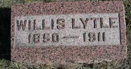 LYTLE, WILLIS - Dawes County, Nebraska   WILLIS LYTLE - Nebraska Gravestone Photos