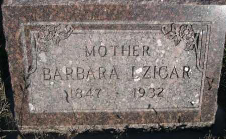 LZICAR, BARBARA - Dawes County, Nebraska | BARBARA LZICAR - Nebraska Gravestone Photos