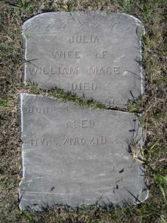 MACE, JULIA - Dawes County, Nebraska | JULIA MACE - Nebraska Gravestone Photos