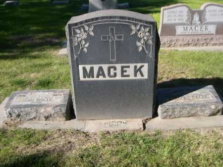 MACEK, FAMILY - Dawes County, Nebraska | FAMILY MACEK - Nebraska Gravestone Photos