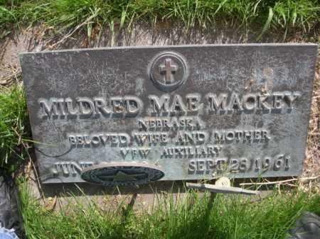 MACKEY, MILDRED MAE - Dawes County, Nebraska | MILDRED MAE MACKEY - Nebraska Gravestone Photos