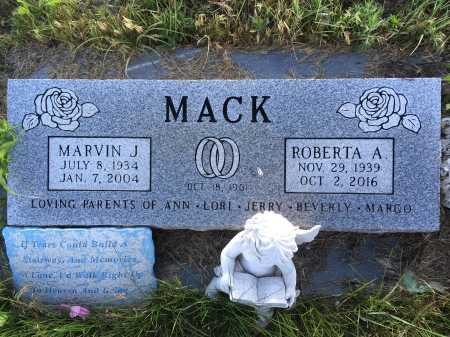 MACK, MARVIN - Dawes County, Nebraska | MARVIN MACK - Nebraska Gravestone Photos