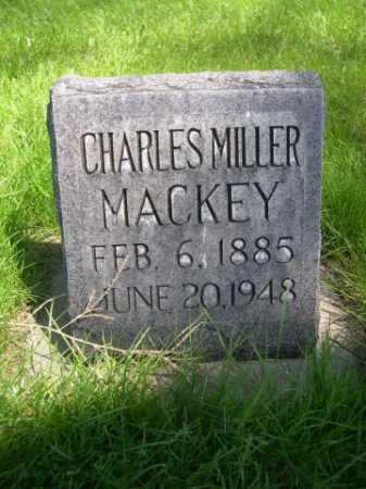 MACKEY, CHARLES MILLER - Dawes County, Nebraska | CHARLES MILLER MACKEY - Nebraska Gravestone Photos