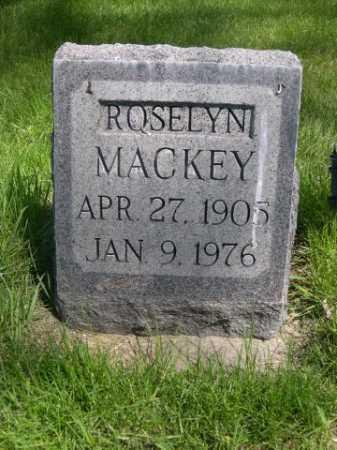 MACKEY, ROSELYN - Dawes County, Nebraska | ROSELYN MACKEY - Nebraska Gravestone Photos