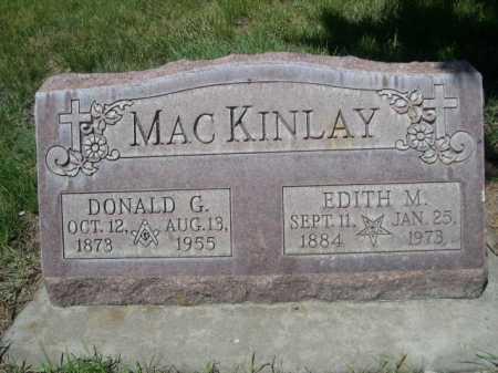 MACKINLAY, EDITH M. - Dawes County, Nebraska | EDITH M. MACKINLAY - Nebraska Gravestone Photos
