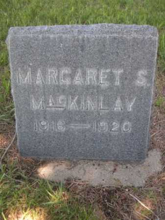 MACKINLAY, MARGARET S. - Dawes County, Nebraska | MARGARET S. MACKINLAY - Nebraska Gravestone Photos