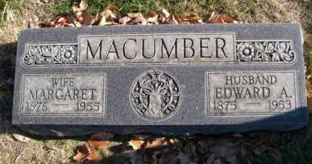 MACUMBER, EDWARD A. - Dawes County, Nebraska | EDWARD A. MACUMBER - Nebraska Gravestone Photos