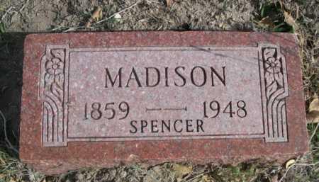 MADISON, SPENCER - Dawes County, Nebraska | SPENCER MADISON - Nebraska Gravestone Photos