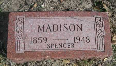 MADISON, SPENCER - Dawes County, Nebraska | SPENCER MADISON - Nebraska Gravestone Photos