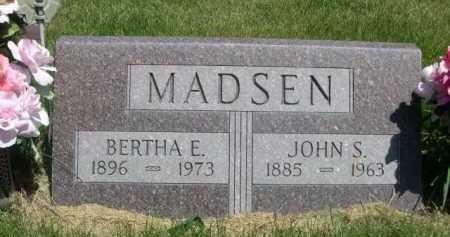 MADSEN, JOHN S. - Dawes County, Nebraska | JOHN S. MADSEN - Nebraska Gravestone Photos