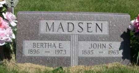 MADSEN, BERTHA E. - Dawes County, Nebraska | BERTHA E. MADSEN - Nebraska Gravestone Photos