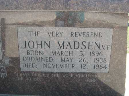 MADSEN, JOHN - Dawes County, Nebraska | JOHN MADSEN - Nebraska Gravestone Photos