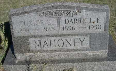 MAHONEY, DARRELL F. - Dawes County, Nebraska | DARRELL F. MAHONEY - Nebraska Gravestone Photos