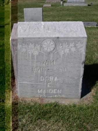 MAIDEN, W.H. - Dawes County, Nebraska | W.H. MAIDEN - Nebraska Gravestone Photos