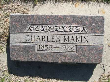 MAKIN, CHARLES - Dawes County, Nebraska | CHARLES MAKIN - Nebraska Gravestone Photos