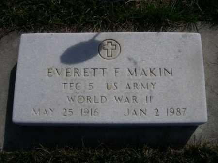 MAKIN, EVERETT F. - Dawes County, Nebraska | EVERETT F. MAKIN - Nebraska Gravestone Photos