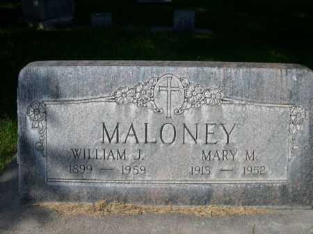 MALONEY, WILLIAM J. - Dawes County, Nebraska | WILLIAM J. MALONEY - Nebraska Gravestone Photos