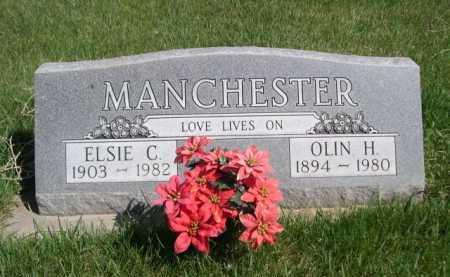 MANCHESTER, OLLIN H. - Dawes County, Nebraska | OLLIN H. MANCHESTER - Nebraska Gravestone Photos