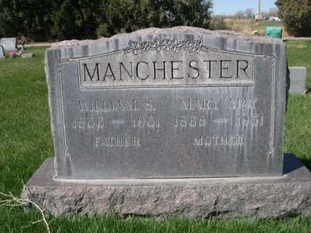 MANCHESTER, MARY MAY - Dawes County, Nebraska | MARY MAY MANCHESTER - Nebraska Gravestone Photos