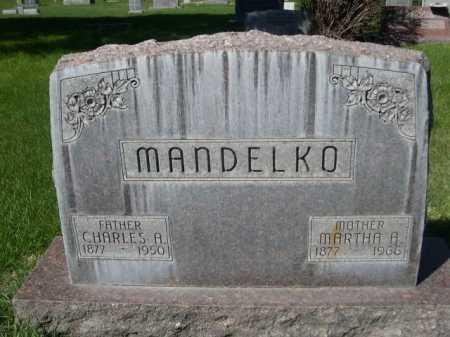 MANDELKO, MARTHA B. - Dawes County, Nebraska | MARTHA B. MANDELKO - Nebraska Gravestone Photos