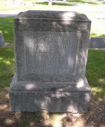 MANN, CHARLES - Dawes County, Nebraska | CHARLES MANN - Nebraska Gravestone Photos