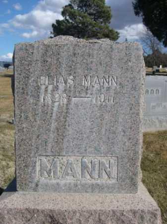 MANN, ELIAS - Dawes County, Nebraska | ELIAS MANN - Nebraska Gravestone Photos