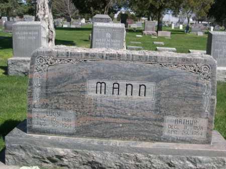 MANN, ARTHUR - Dawes County, Nebraska | ARTHUR MANN - Nebraska Gravestone Photos
