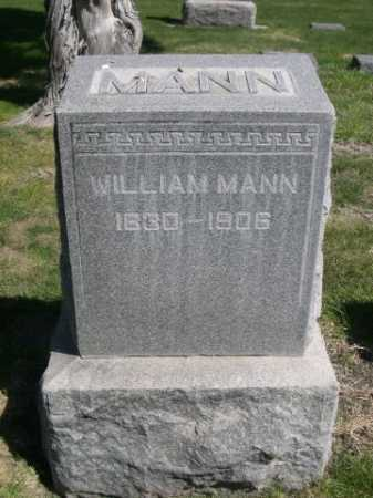 MANN, WILLIAM - Dawes County, Nebraska | WILLIAM MANN - Nebraska Gravestone Photos
